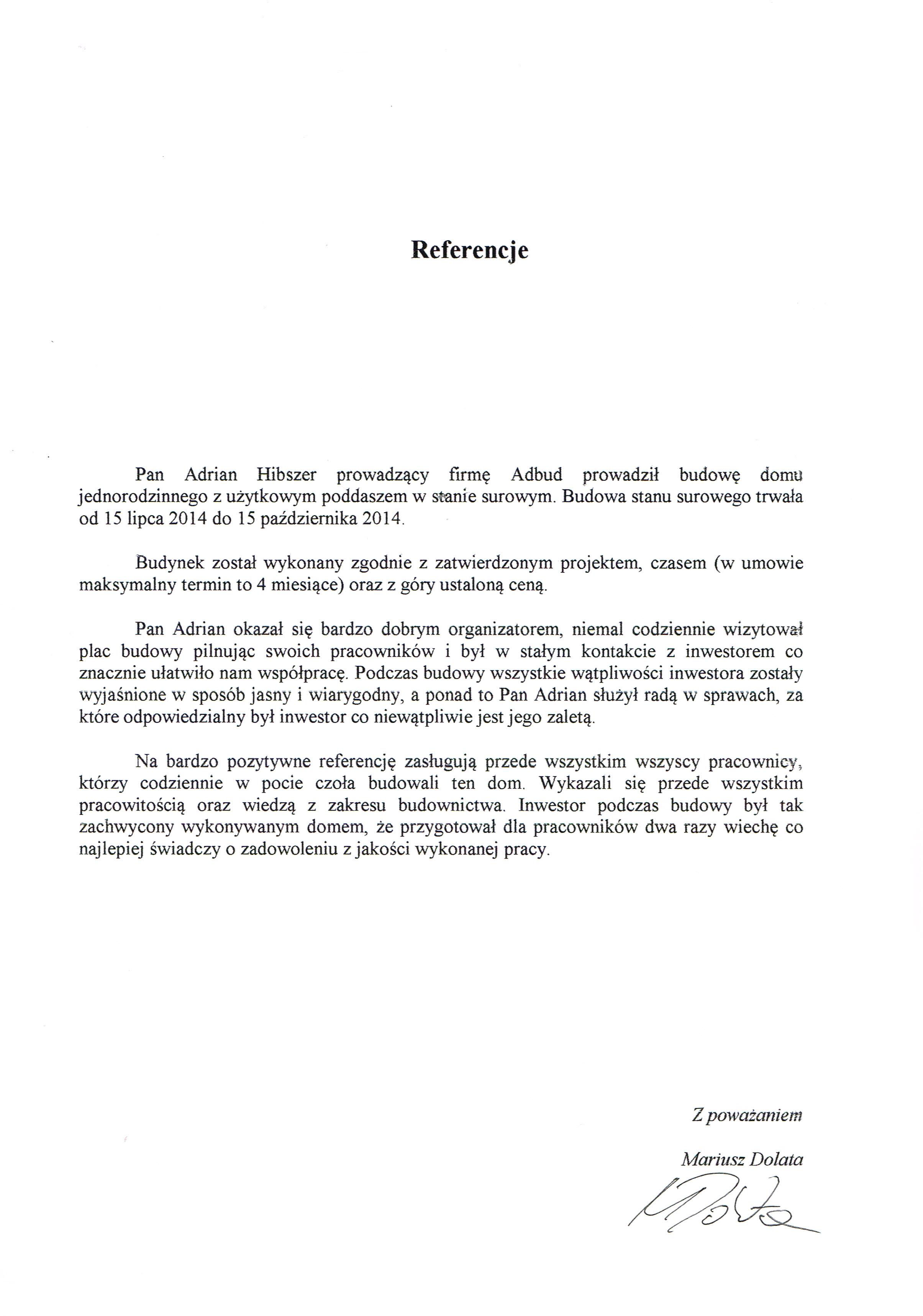 Referencje-Dolata